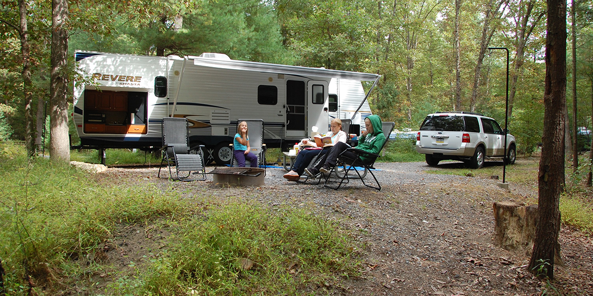 Relax at the campsite