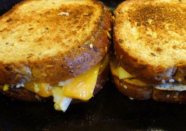 Grilled Cheese Sandwich With Sauerkraut